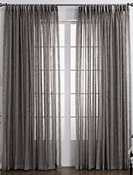 Double Panel Curtains Curtain Hooks Solid Sheer Curtains Lightinthebox Com