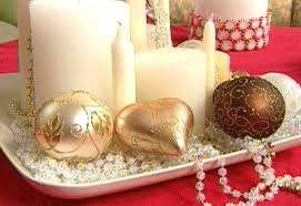Decorating Dining Table For Christmas With Pictures by Trendy Dining Room Decorating Gold White Christmas Ideas