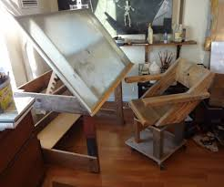 Ergonomic Drafting Table Drafting Table Chairs