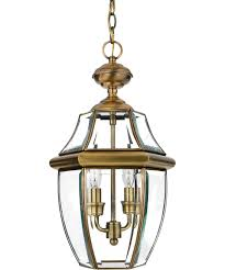 Antique Outdoor Lights by Quoizel Ny1178 Newbury 10 Inch Wide 2 Light Outdoor Hanging