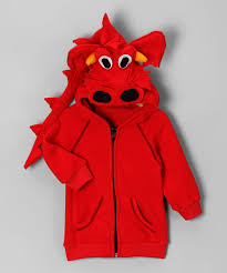 head red dragon zip up hoodie infant toddler u0026 kids zulily