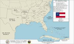 Map Of Georgia And Florida Map Of The Third Confederate Republic Tl 191 By Kitfisto1997 On