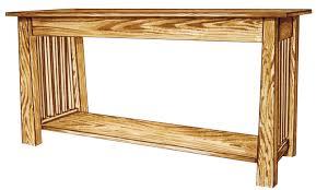 sofa elegant mission sofa table plans light oak sofa table