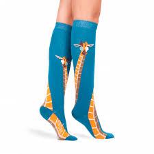 giraffe knee high socks altersocks ალტერსოქსი