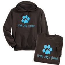 walk with a friend hooded sweatshirt best selling gifts clothing
