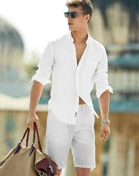 all white casual picture of all white