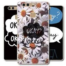 okay phone green qoute okay design plastic phone cover