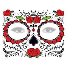 glitter day of the dead is of a sugar skull
