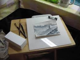Desk Easel For Drawing Watercolor Easel Wetcanvas