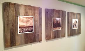 wood plank artwork wall top ten wall wood panels crate and barrel wall