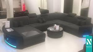 sofa mit led beleuchtung nativo möbel schweiz designer sofa atlantis mit led