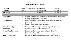 cover letter addressing selection criteria examples resume