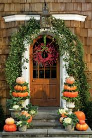 last minute porch decorating ideas for thanksgiving southern living