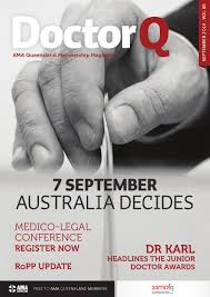 Young Doctors Buck The Trend Doctor Q September 2013 By Ama Queensland Issuu
