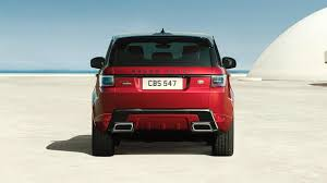 red land rover new range rover sport vehicle gallery land rover