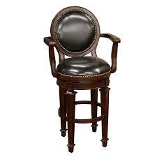 Boston Swivel Chair by Armen Living Boston Leather Swivel Bar Stool 30 In Red