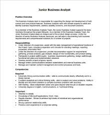 business analyst job description template 10 free word pdf