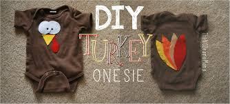 the things diy turkey onesie baby onesie