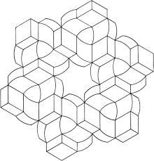 illusions coloring pages the 23 best images about templates geo shapes on pinterest