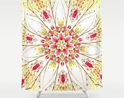 dots shower curtain etsy