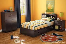 Storage Bedroom Set Amazon Com South Shore Zach Storage Bed Twin Chocolate Kitchen