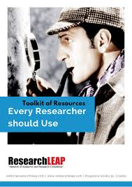 toolkit of resources every researcher should use