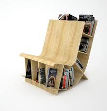 Bookshelf Chair Simple Wooden Bookshelf Designs