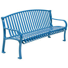 Aluminum Park Benches Commercial Custom Metal Outdoor Park Benches