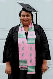 sorority graduation stoles alpha kappa alpha sorority graduation kente