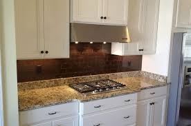 Cinnamon Brown Subway Tile Kitchen Traditional Kitchen - Brown subway tile backsplash