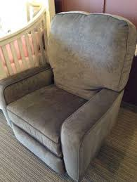 Swivel Glider Recliner Chair by Best Chairs Benji Swivel Glider Recliner Shown In Burlap Baby