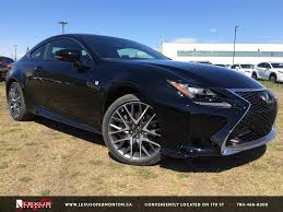 lexus rc 350 f sport for sale new black 2015 lexus rc 350 awd f sport series 2 in depth review