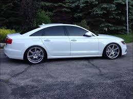 2008 audi a6 rims audi a6 s line vossen cv7 20 wheels h r lowering