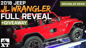jl jeep diesel 2018 jeep wrangler jl official reveal at la auto show 18