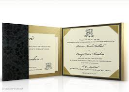 Wedding Invitations Montreal Luxury Wedding Invitations Montreal Black And Gold Flocked