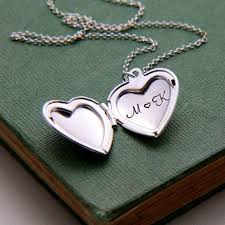 personalized heart locket personalized necklace monogram necklace heart locket heart