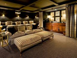 Home Theater Sofa by Interior Interesting Home Theater Design And Decoration Using Grey