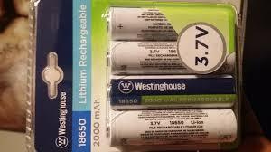 target black friday 46 westinghouse tv spec 4x rechargeable lithium batteries 18650 bm ymmv walmart 4