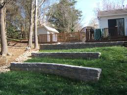 Landscaping Ideas For A Sloped Backyard by Backyard Landscaping Ideas Retaining Walls Backyard Design Ideas