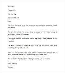 professional cover letter templates 7 samples examples u0026 formats