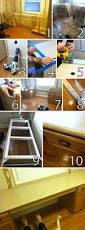 Diy Wood Desk by Diy Desk From Stock Cabinets Woodland Office