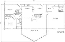 log home plan 01867 katahdin cedar log homes floor plans