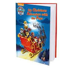 christmas paw patrol personalised book