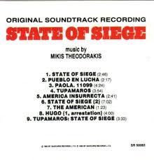 siege cic state of siege by mikis theodorakis amazon co uk