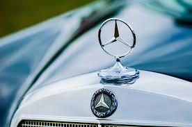 1958 mercedes 220s cabriolet ornament emblem