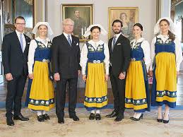 princess sofia wears traditional swedish hat for royal family photo
