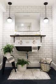 form meets function in an impressive bathroom renovation rue basement bathroom reveal deuce cities henhouse