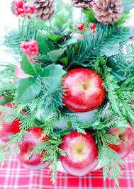 easy diy holiday centerpiece an alli event