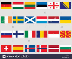 Flags Of Countries In Europe Set Flags Countries Europe Vector Stock Photos U0026 Set Flags