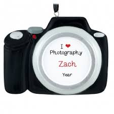 photographer ornaments gifts personalized ornaments for you